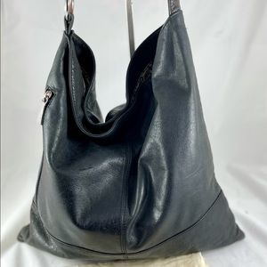 HOBO Leather Slouch Shoulder Bag